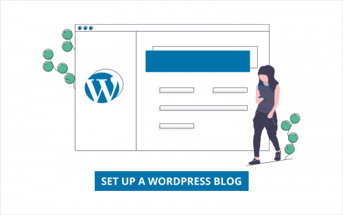 setup wordpress blog featured