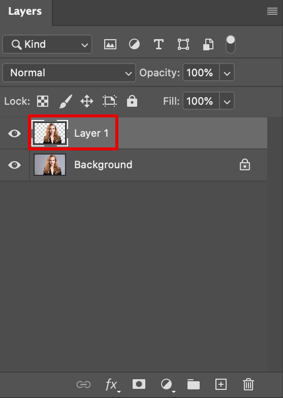create new layer with your selection to erase background