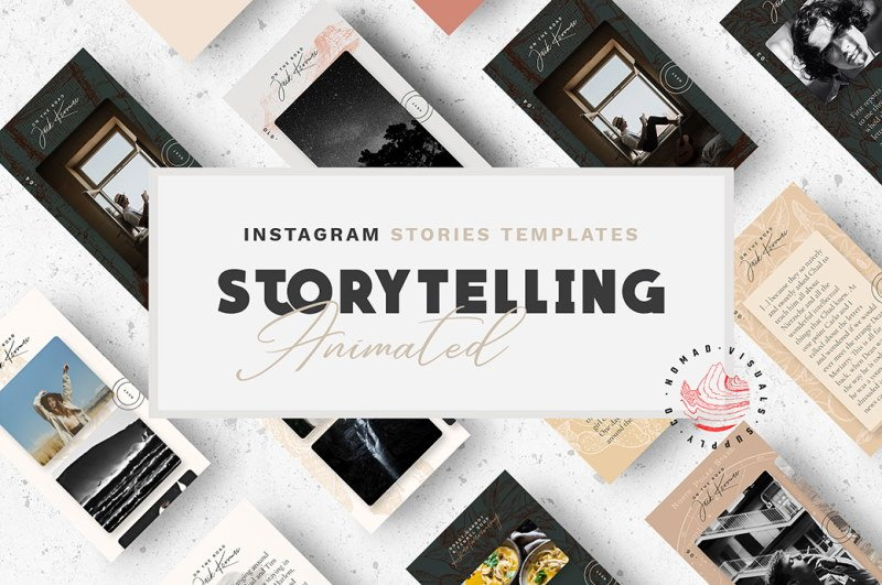 free animated instagram stories templates