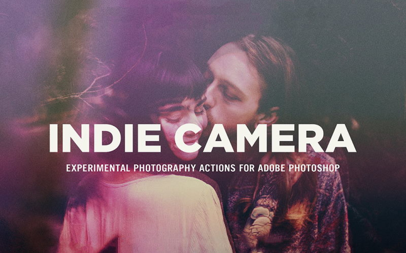indie camera photoshop action