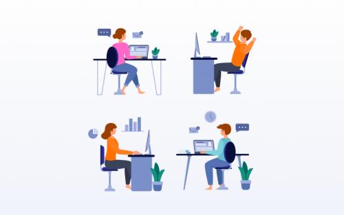 tips managing remote design team