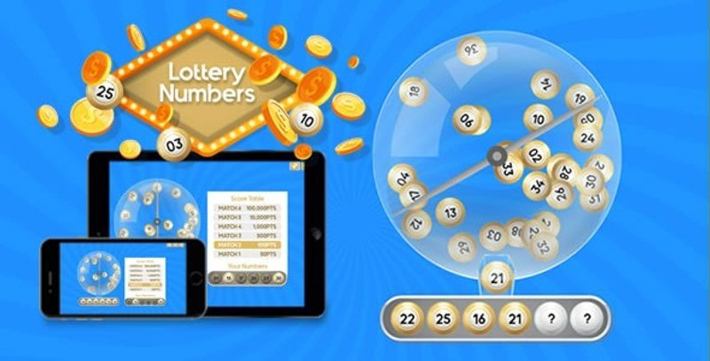 Lottery Numbers HTML5 Game
