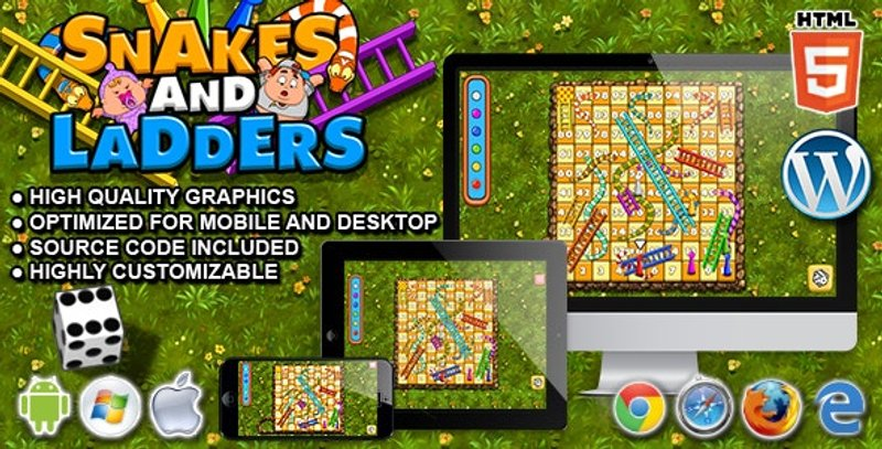 Snakes and Ladders HTML5