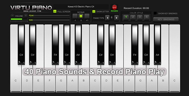 Virtu Piano HTML5 Virtual