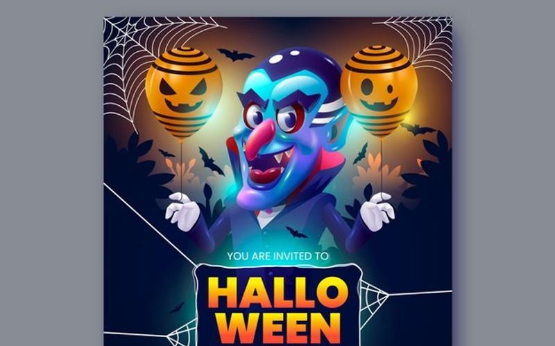 20 Best Halloween Party Flyer Templates
