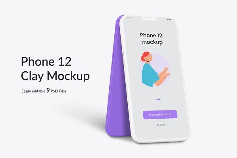App Phone 12 Clay
