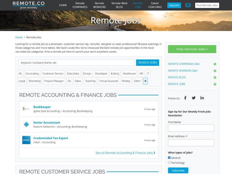 4 Remote Jobs Customer Service
