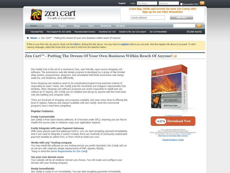 4 Zen Cart Support Zen