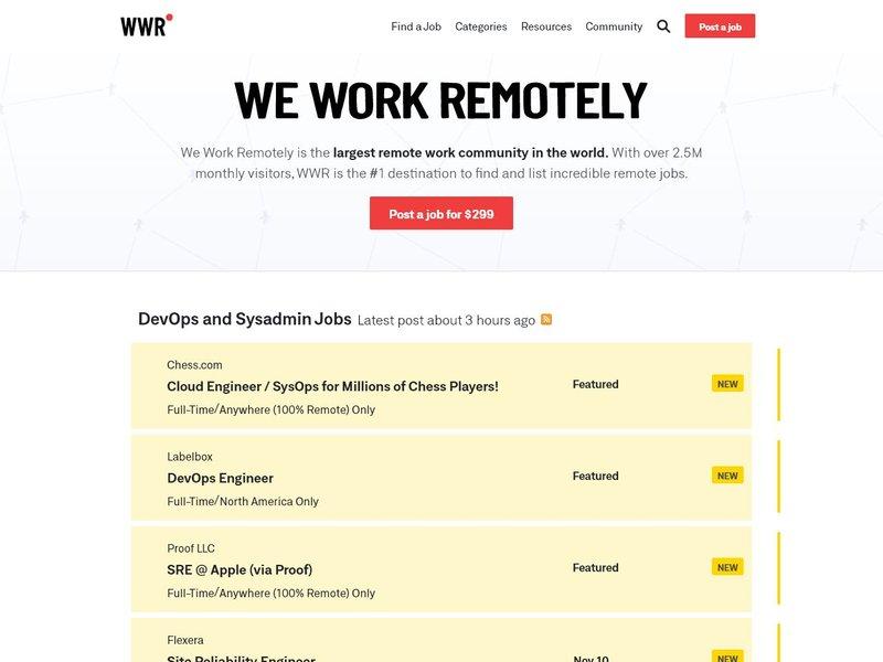 5 We Work Remotely Remote