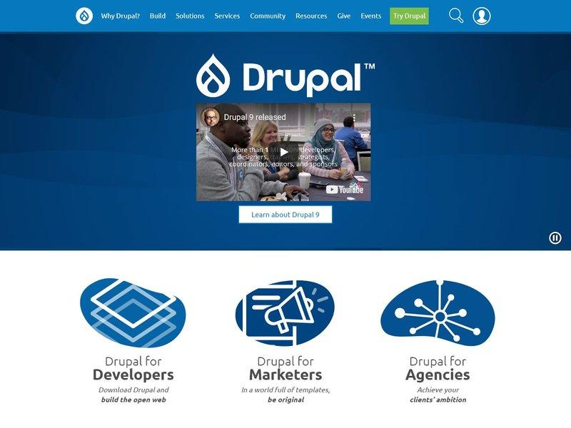 6 Drupal Open Source CMS