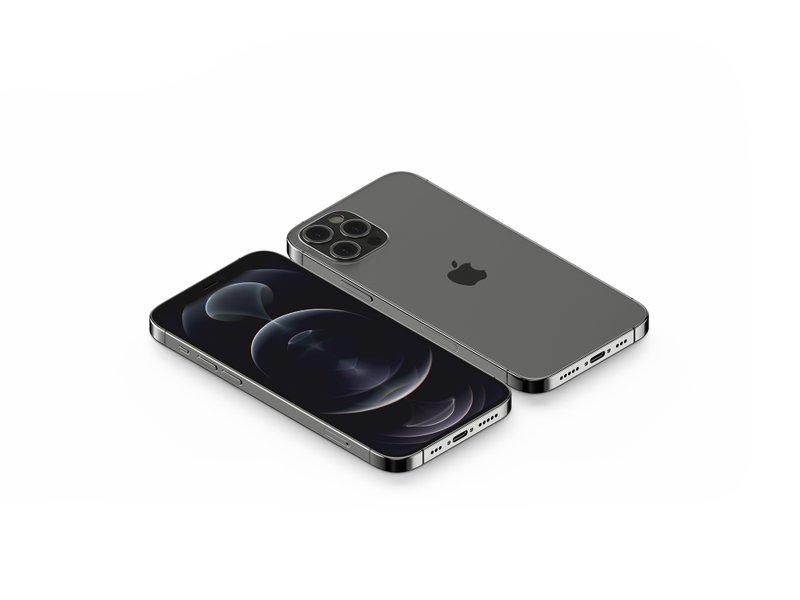 7 Isometric iPhone 12 Pro