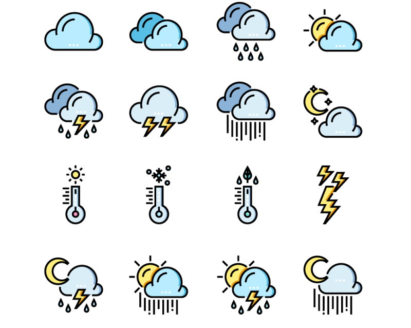 Free Download Weather Icons