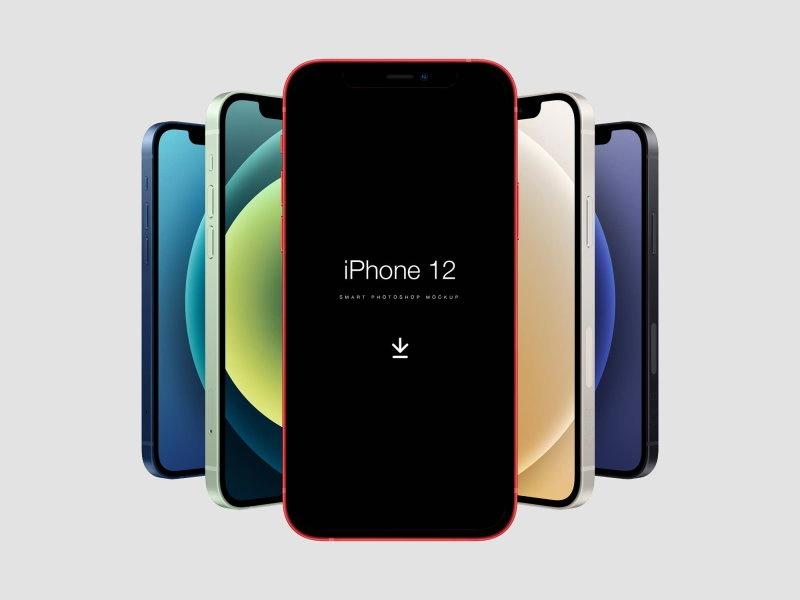 iPhone 12 PSD