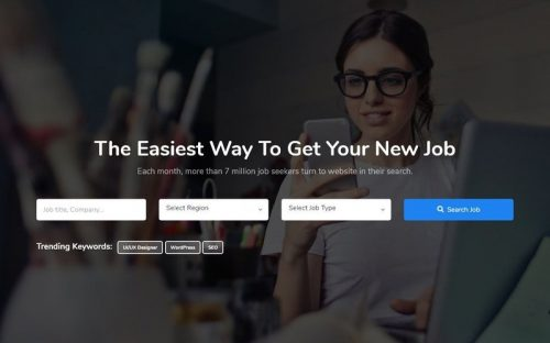 25 Best Job Portal Templates for Job Listing Sites