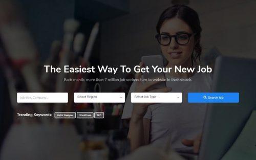 job portal templates
