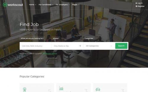 wordpress job board themes