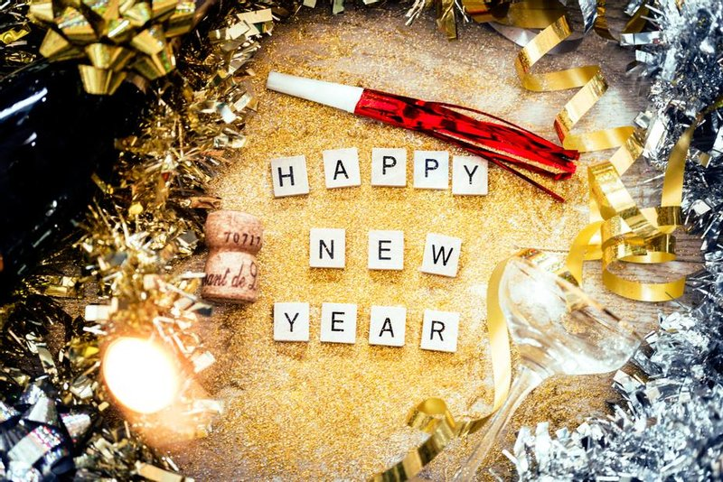 Picture of Happy New Year letters