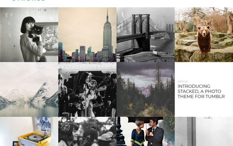 25 Best Tumblr Themes for Photographers & Photobloggers