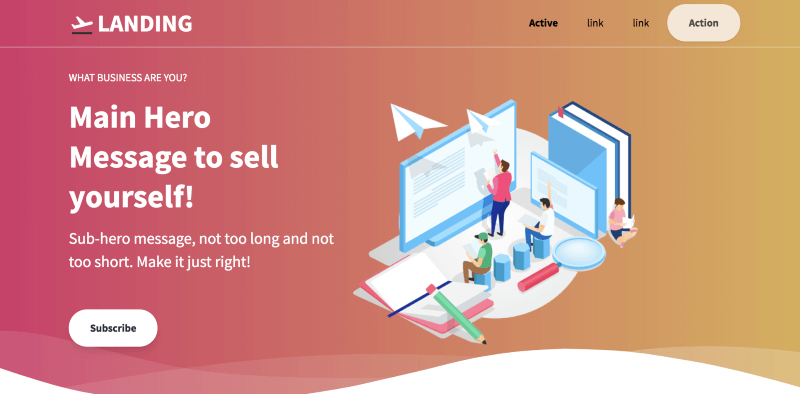 Tailwind Toolbox Landing Page