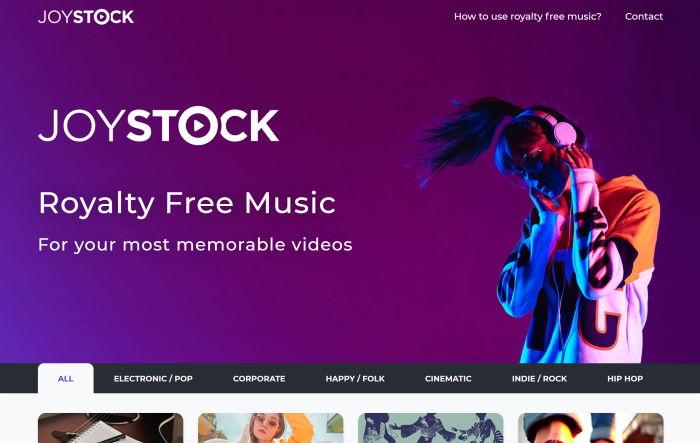 joystock royalty free music
