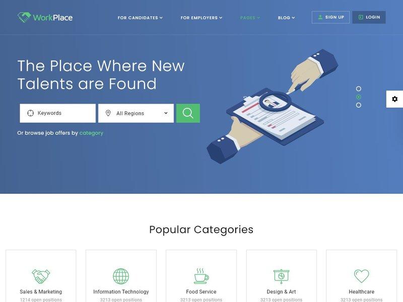 10 Job Portal Multipage HTML5