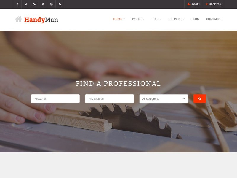 15 Handyman Job Board WordPress
