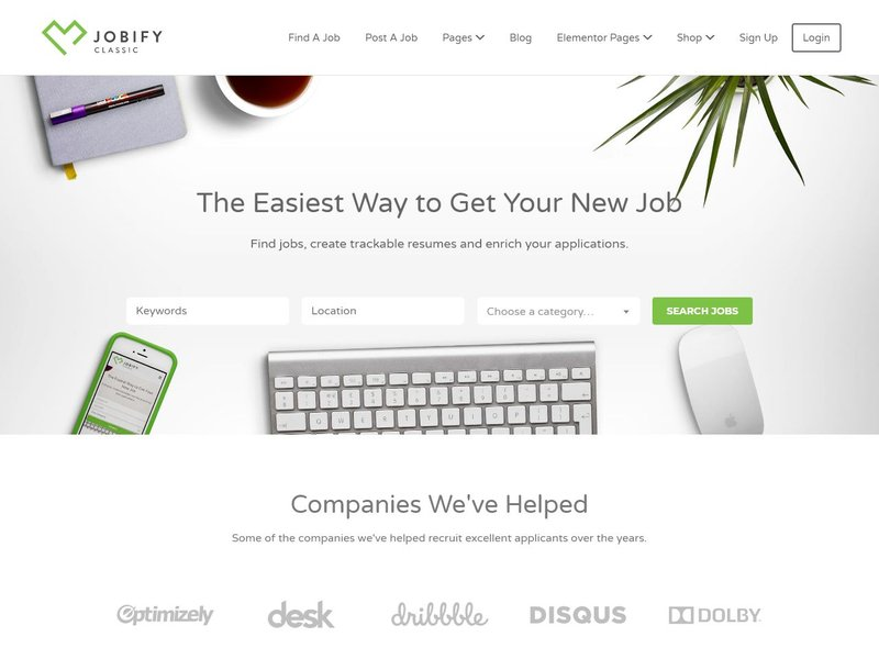 1 Jobify Job Board WordPress
