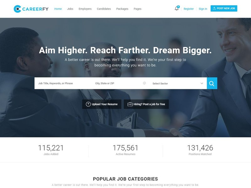5 Careerfy Job Board WordPress