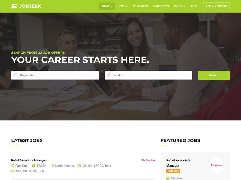 6 Jobseek Job Board WordPress