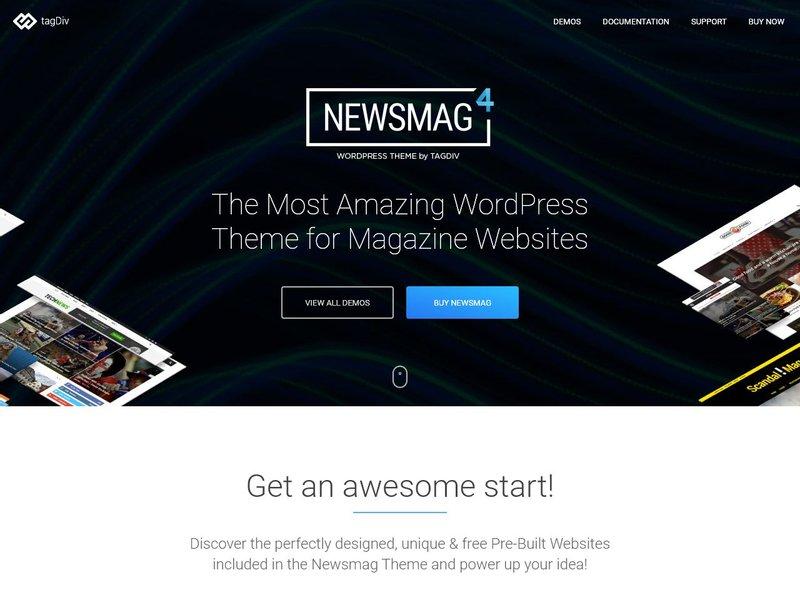 Newsmag Newspaper Magazine WordPress