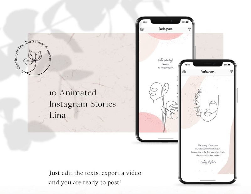 ANIMATED Instagram Stories psd