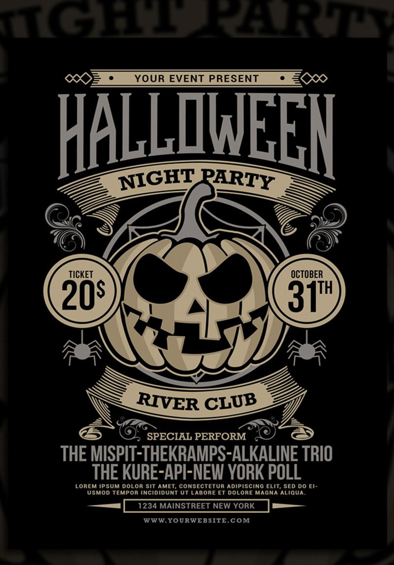 Halloween Night Party Corporate