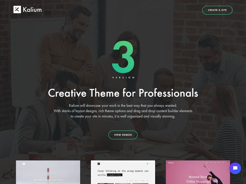 Kalium Creative Theme for