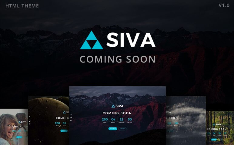 SIVA Coming Soon Responsive Small