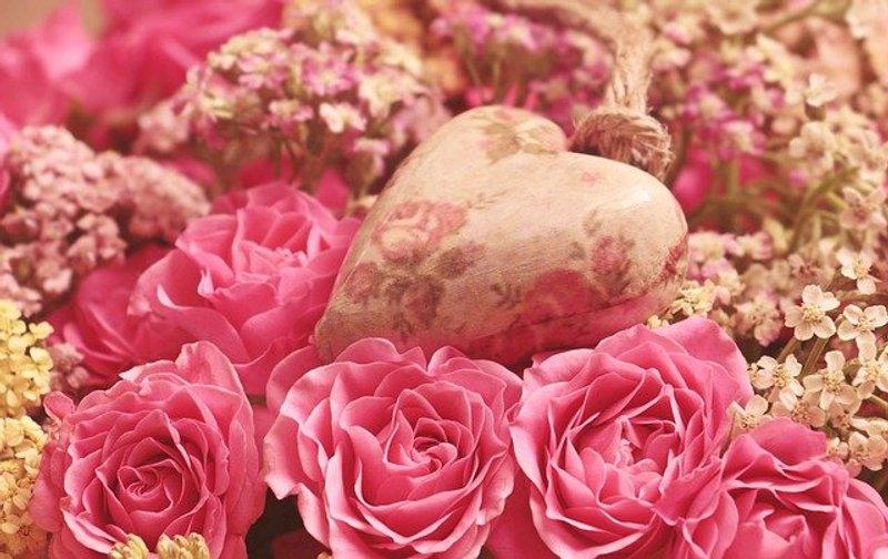 Roses Heart Noble