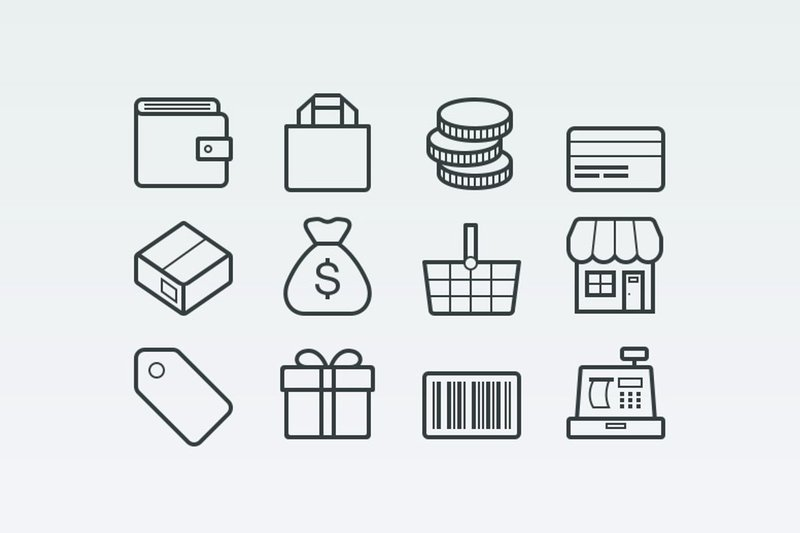 Vector Ecommerce Icons Medialoot
