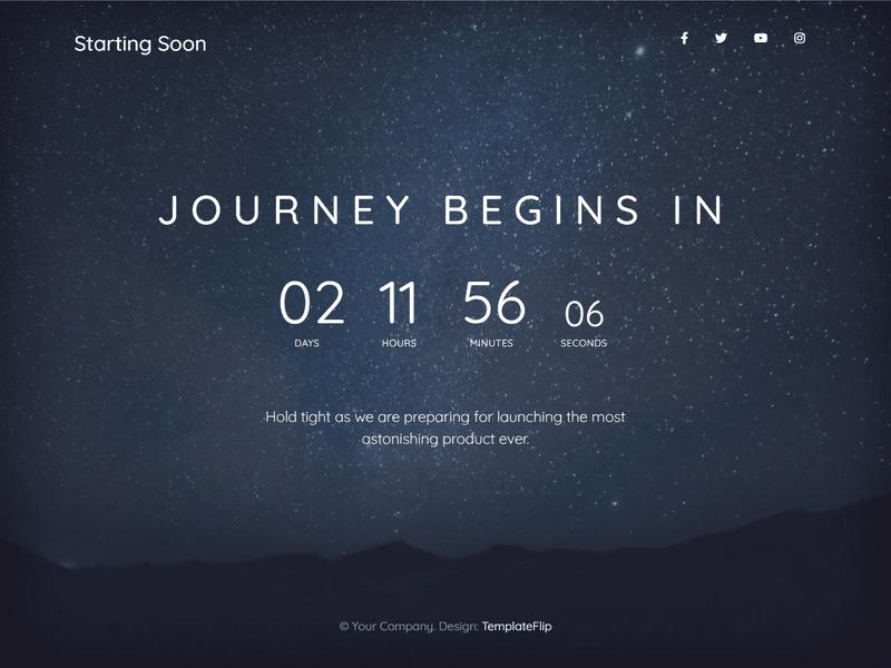 starting soon screenshot
