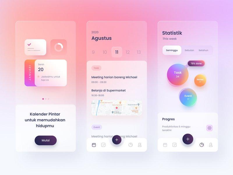 Smart Calendar App by