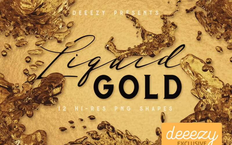 Free Liquid Gold Shapes Deeezy
