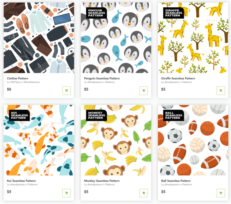 Graphicriver Premium Patterns