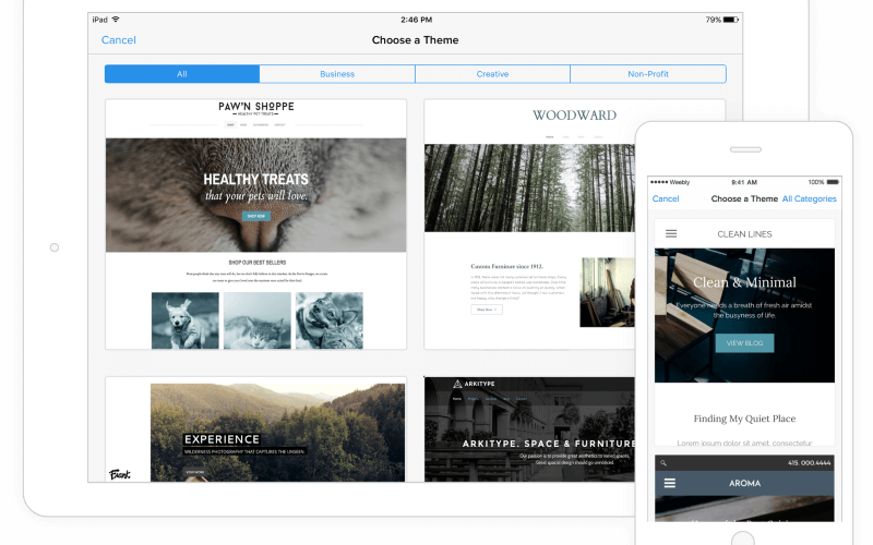 Responsive Weebly