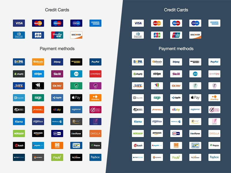 Ultimate Payment Icon Set