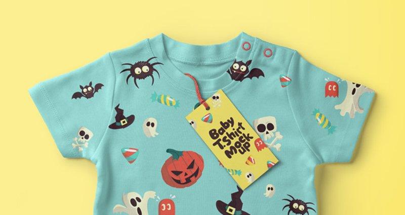 free Baby T shirt Psd