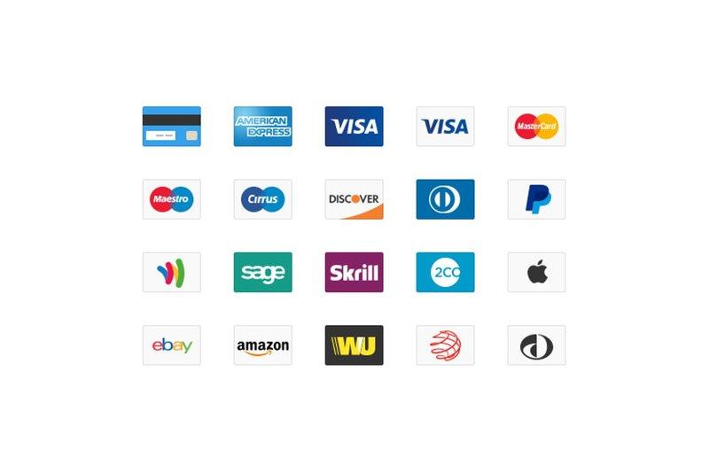 free Credit Card Web Icons