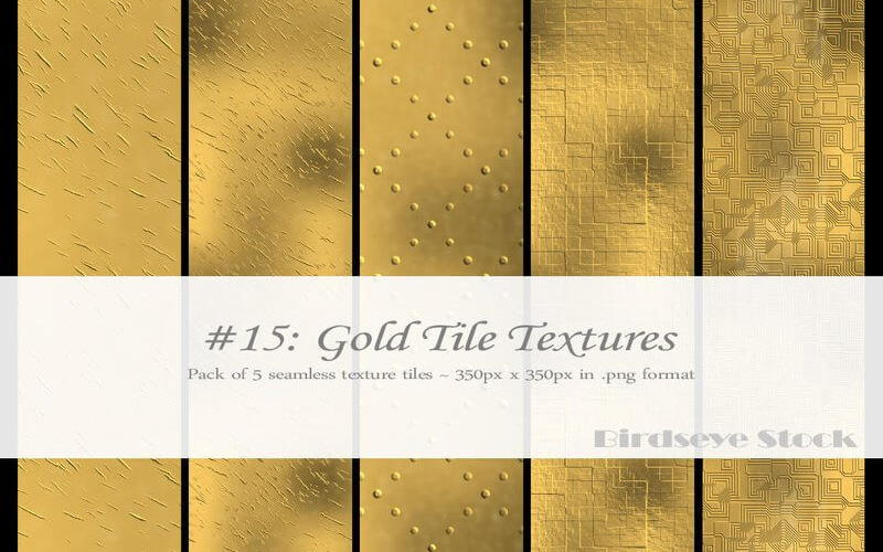 free Gold Tile Textures by
