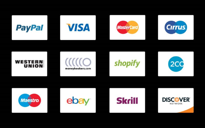 free payment icons psd