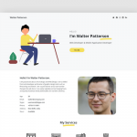 Free Portfolio HTML Template built with Bootstrap – Super Folio
